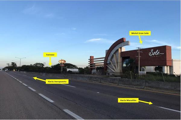 Foto de terreno habitacional en venta en carretera internacional , el castillo, mazatlán, sinaloa, 9924988 No. 04
