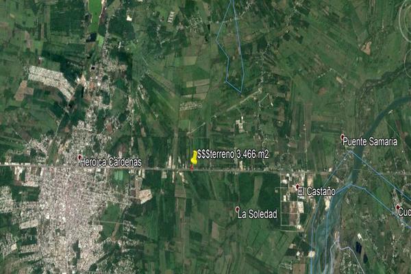 Foto de terreno comercial en venta en carretera kilometro 126.7 , el palmar, cárdenas, tabasco, 14027674 No. 10