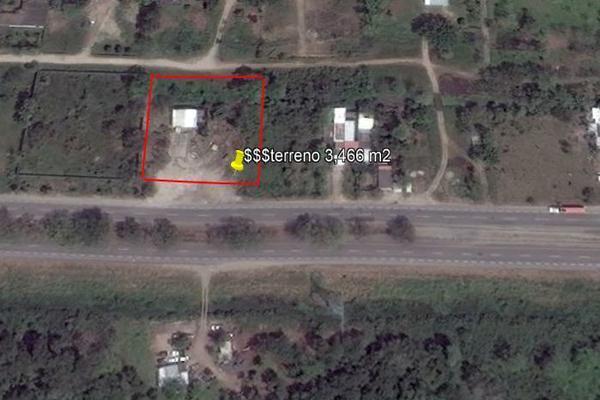 Foto de terreno comercial en venta en carretera kilometro 126.7 , el palmar, cárdenas, tabasco, 14027674 No. 14