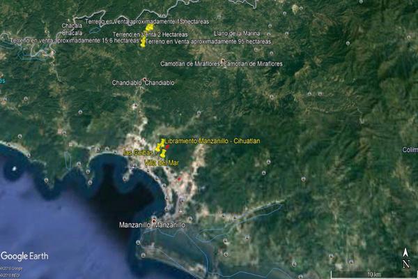 Foto de terreno habitacional en venta en carretera la piña los otates s/n , veladeros de los otates, manzanillo, colima, 7158446 No. 02