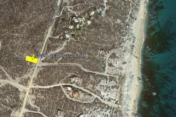 Foto de terreno habitacional en venta en carretera los frailes , santa catarina, los cabos, baja california sur, 3681882 No. 07