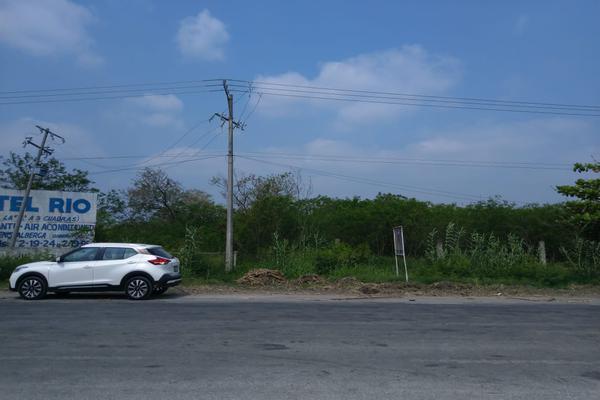 Foto de terreno habitacional en venta en carretera mante-victoria , chapultepec, el mante, tamaulipas, 7206290 No. 01