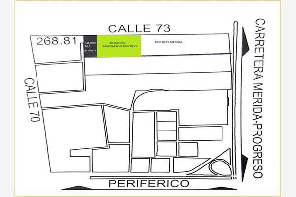 Foto de terreno comercial en venta en carretera merida progreso 0000001, mérida, mérida, yucatán, 6203449 No. 01
