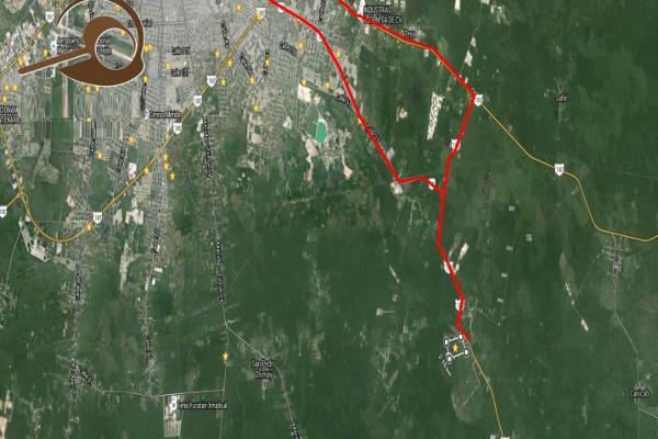 Foto de terreno habitacional en venta en carretera mérida-acanceh kilometro 15 , tepich, acanceh, yucatán, 0 No. 01