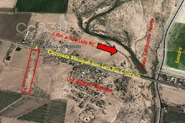 Foto de terreno habitacional en venta en carretera mexicali san luis , baja california, mexicali, baja california, 0 No. 08