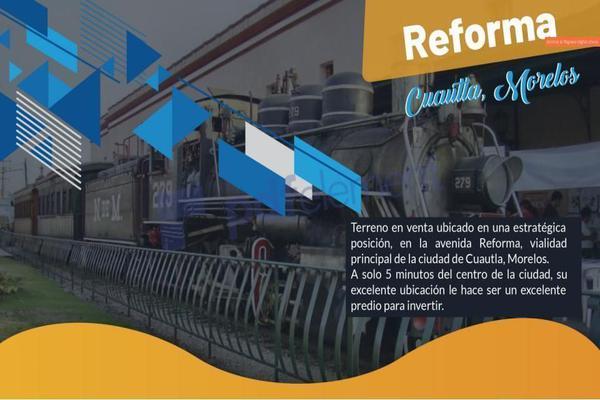 Foto de terreno comercial en venta en carretera mexico cuautla , reforma, cuautla, morelos, 10056002 No. 01