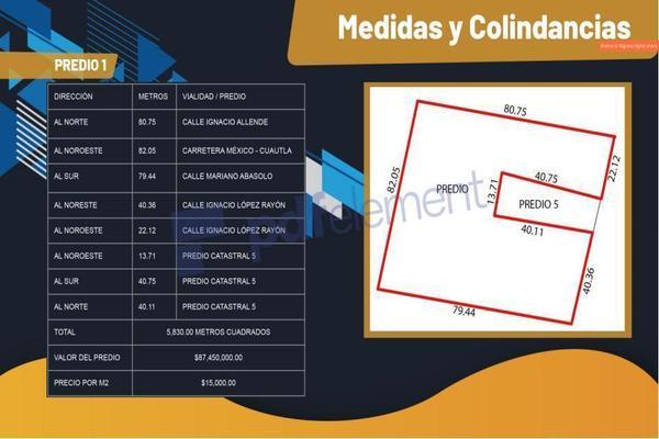 Foto de terreno comercial en venta en carretera mexico cuautla , reforma, cuautla, morelos, 10056002 No. 03