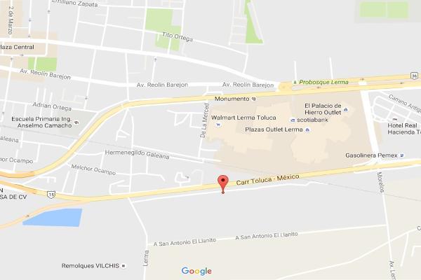Foto de terreno habitacional en venta en carretera mexico toluca, la cueva , lerma de villada centro, lerma, méxico, 3355601 No. 02