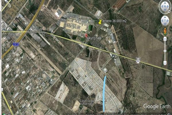 Foto de terreno industrial en renta en carretera monterrey monclova km7 , el jaral, el carmen, nuevo león, 19516011 No. 01