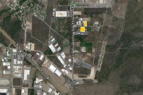 Foto de terreno industrial en venta en carretera monterrey - nuevo laredo , el mirador, ciénega de flores, nuevo león, 0 No. 01