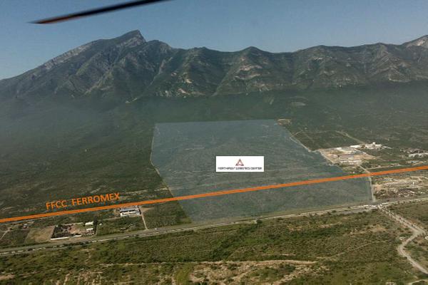 Foto de terreno industrial en venta en carretera monterrey-monclova kilometro 37 , abasolo centro, abasolo, nuevo león, 15335214 No. 02
