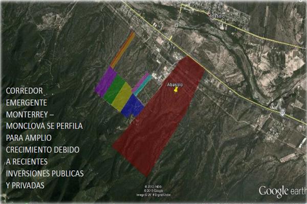 Foto de terreno industrial en venta en carretera monterrey-monclova kilometro 37 , abasolo centro, abasolo, nuevo león, 18475848 No. 01