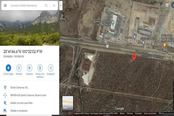 Foto de terreno habitacional en venta en carretera monterrey-saltillo , parque industrial la esperanza, santa catarina, nuevo león, 0 No. 02