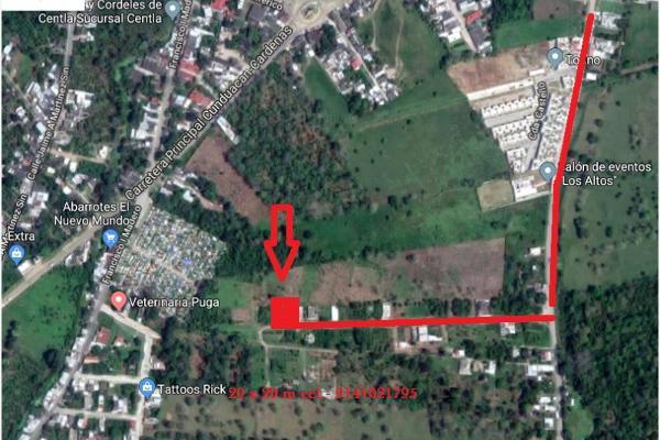Foto de terreno comercial en venta en carretera morelitos 22, manuel sanchez mármol, cunduacán, tabasco, 5298014 No. 04
