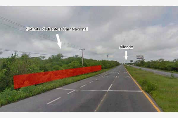 Foto de terreno comercial en renta en carretera nacional kilometro 200 , calles, montemorelos, nuevo león, 5315364 No. 01