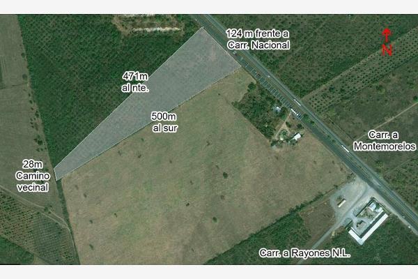 Foto de terreno comercial en renta en carretera nacional kilometro 200 , calles, montemorelos, nuevo león, 5315364 No. 06
