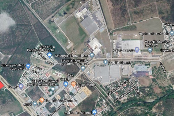 Foto de terreno habitacional en renta en carretera nacional sn , parque industrial, linares, nuevo león, 8866677 No. 02