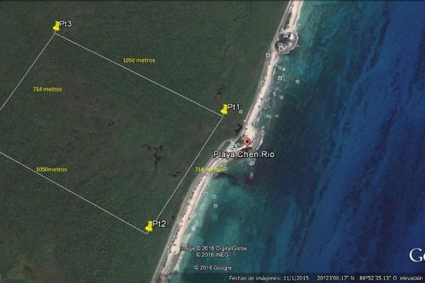 Foto de terreno comercial en venta en carretera perimetral , zona hotelera sur, cozumel, quintana roo, 3479362 No. 01
