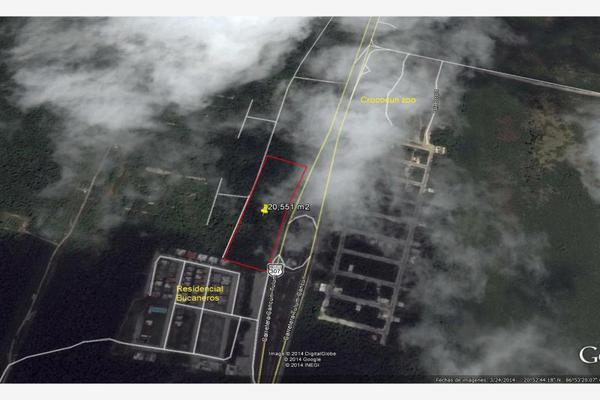 Foto de terreno habitacional en venta en carretera puerto morelos 0000000000000001, puerto arturo, josé maría morelos, quintana roo, 8512390 No. 01