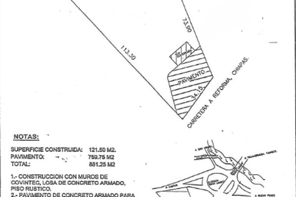 Foto de terreno comercial en venta en carretera reforma-villahermosa , miguel hidalgo, reforma, chiapas, 3464828 No. 02