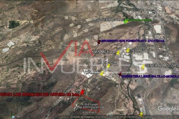 Foto de terreno industrial en venta en 00 00, parque industrial, ramos arizpe, coahuila de zaragoza, 7095771 No. 07