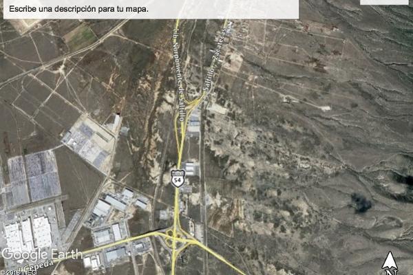Foto de terreno habitacional en venta en carretera saltillo zacatecas , la colorada, saltillo, coahuila de zaragoza, 14036413 No. 01