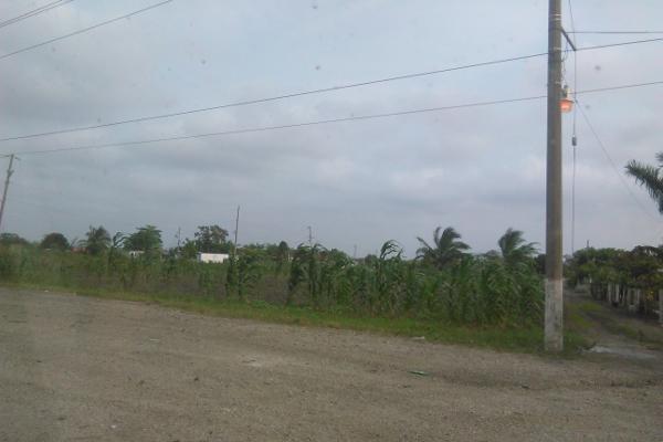 Foto de terreno comercial en venta en carretera tampico mante 0, benito juárez, altamira, tamaulipas, 2647668 No. 01