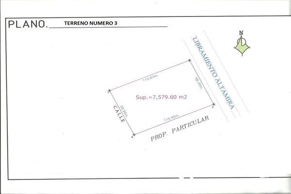 Foto de terreno industrial en venta en carretera tampico-mante , el edén, altamira, tamaulipas, 6186737 No. 03