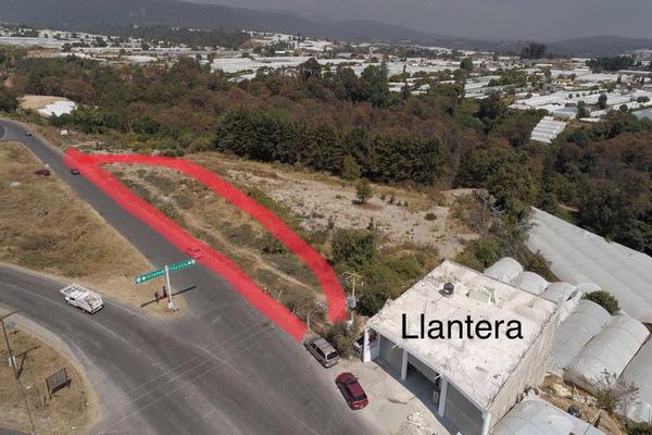 Foto de terreno habitacional en venta en carretera tenango- ixtapan de la sal , san josé, villa guerrero, méxico, 7238140 No. 01