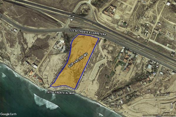 Foto de terreno comercial en venta en carretera tijuana - ensenada kilometro 42.5 rosarito, baja california , popotla, playas de rosarito, baja california, 7077461 No. 01