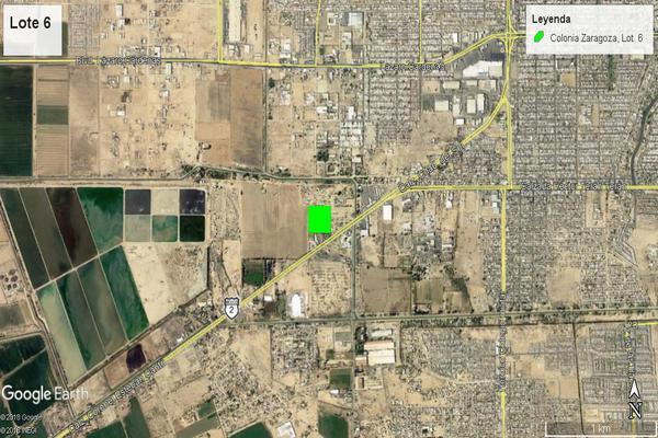 Foto de terreno comercial en venta en carretera tijuana- mexicali , zaragoza, mexicali, baja california, 7514182 No. 02