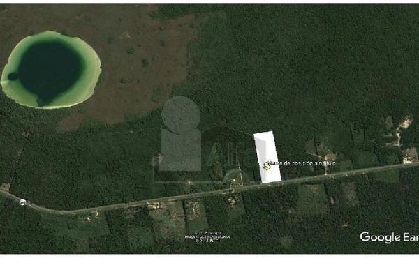 Foto de terreno habitacional en venta en carretera tulum chetumal , ejido, tulum, quintana roo, 5713466 No. 03