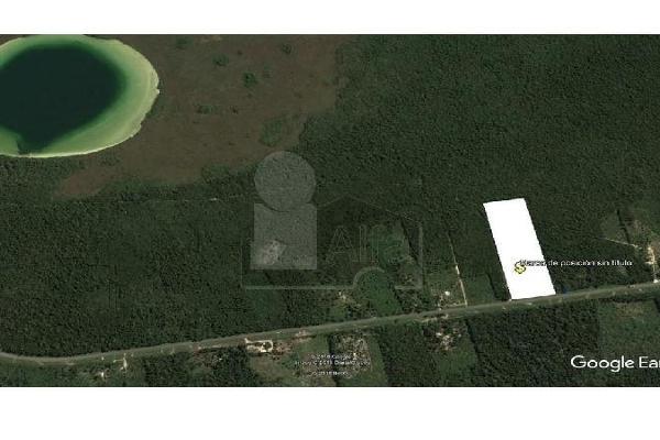 Foto de terreno habitacional en venta en carretera tulum chetumal , ejido, tulum, quintana roo, 5713466 No. 04