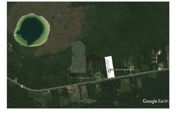Foto de terreno habitacional en venta en carretera tulum chetumal , yaxche, tulum, quintana roo, 5713466 No. 03