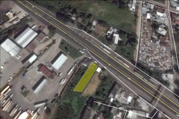 Foto de terreno comercial en venta en carretera vhsa-macuspana , 2 montes, centro, tabasco, 5339521 No. 01