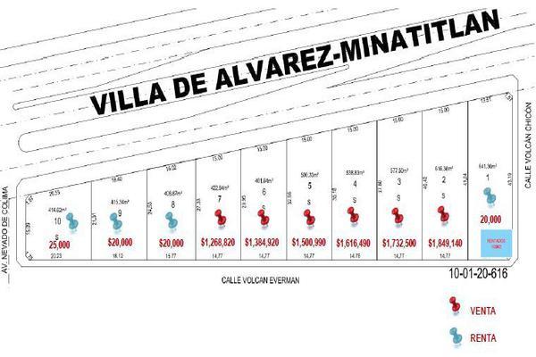 Foto de terreno habitacional en venta en carretera villa de álvarez - minatitlán 7 , juan josé ríos ii, villa de álvarez, colima, 17748650 No. 10