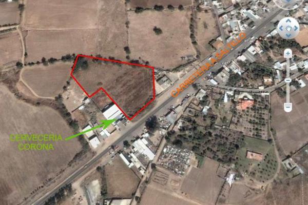 Foto de terreno comercial en venta en carretere guadalajarza-saltillo kilometro 45 , ixtlahuacan del rio, ixtlahuacán del río, jalisco, 12764316 No. 01