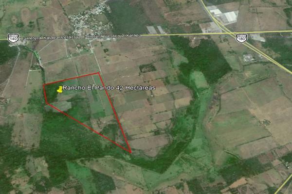 Foto de terreno habitacional en venta en carrtetera federal ver-xal , el pando, veracruz, veracruz de ignacio de la llave, 5816111 No. 02