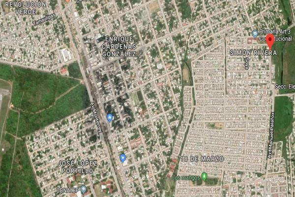 Foto de terreno habitacional en venta en cartamo , simon rivera, ciudad madero, tamaulipas, 9232731 No. 04