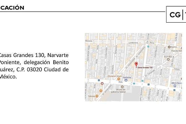 Foto de departamento en venta en casas grandes , narvarte poniente, benito juárez, df / cdmx, 5637475 No. 08