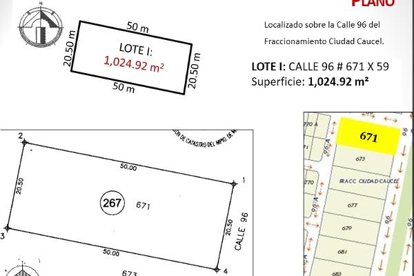 Foto de terreno habitacional en venta en  , caucel, mérida, yucatán, 2637631 No. 02