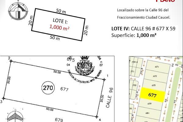 Foto de terreno habitacional en venta en  , caucel, mérida, yucatán, 2637631 No. 05
