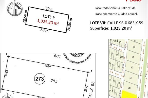 Foto de terreno habitacional en venta en  , caucel, mérida, yucatán, 2637631 No. 08