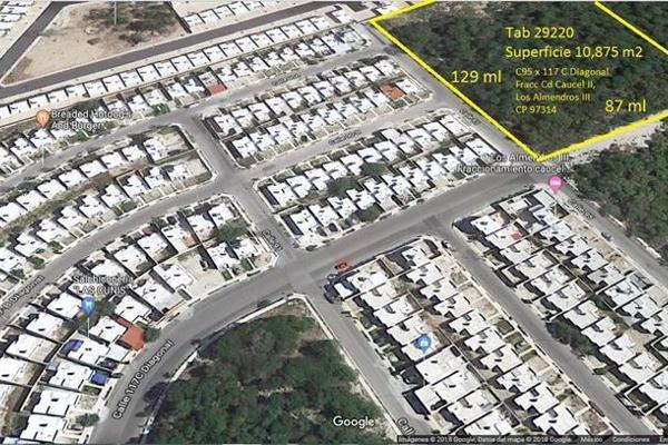 Foto de terreno habitacional en venta en  , caucel, mérida, yucatán, 7860701 No. 01