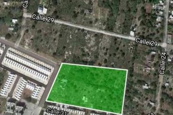 Foto de terreno habitacional en venta en  , caucel, mérida, yucatán, 7861520 No. 01