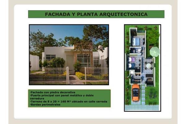 Foto de casa en venta en  , caucel, mérida, yucatán, 8099200 No. 01