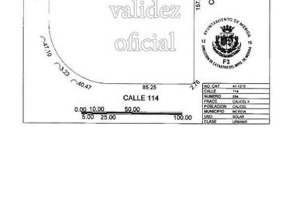 Foto de terreno habitacional en venta en  , caucel, mérida, yucatán, 8100210 No. 03