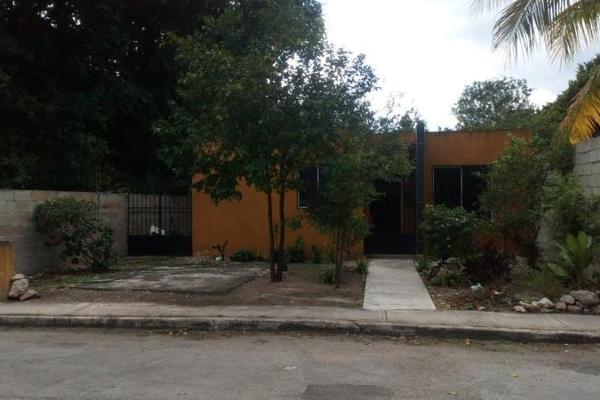 Foto de casa en venta en  , caucel, mérida, yucatán, 8101511 No. 01