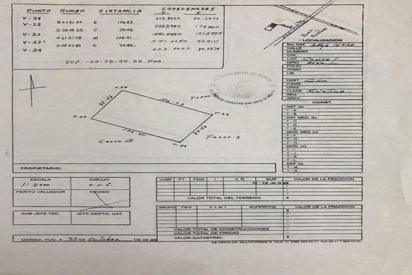 Foto de terreno comercial en venta en  , caucel, mérida, yucatán, 8269655 No. 05