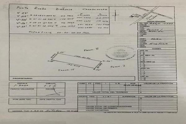Foto de terreno comercial en venta en  , caucel, mérida, yucatán, 8269655 No. 06